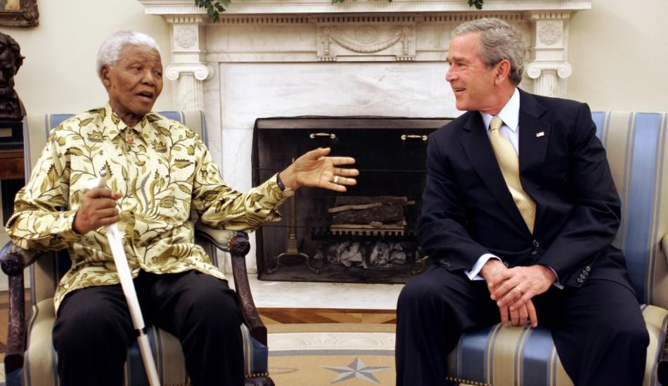 Mandela Terrorist Bush US
