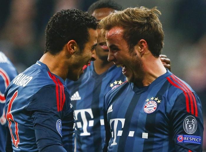 Bayern Munich Thiago Gotze