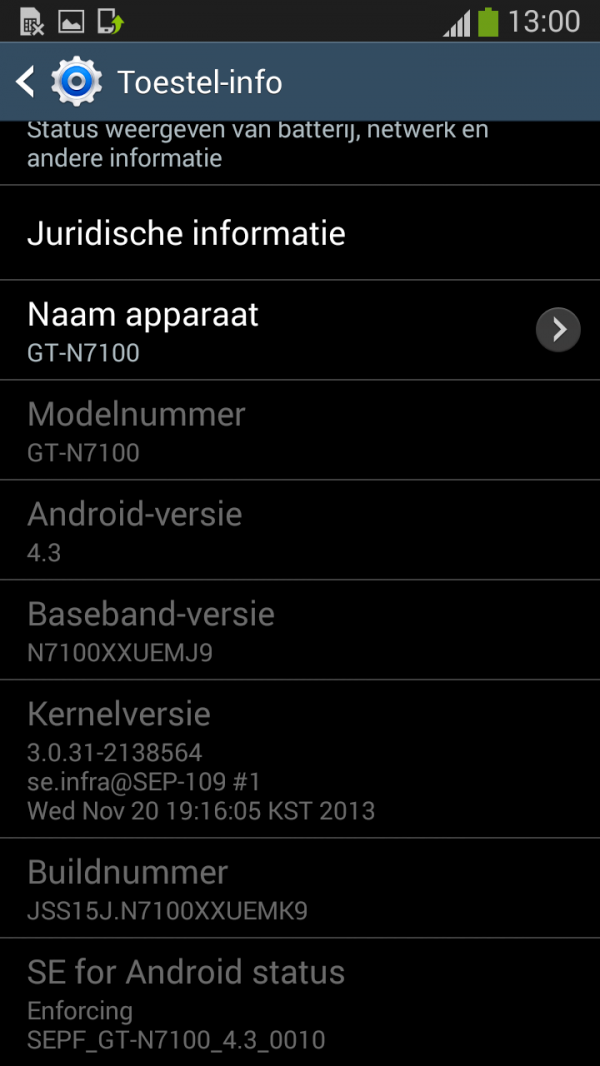 TÉLÉCHARGER FIRMWARE OFFICIEL ANDROID 4.3 I9300XXUGMK6