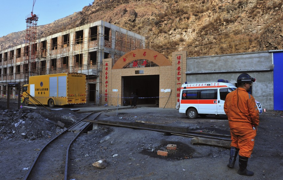 China coal mine blast