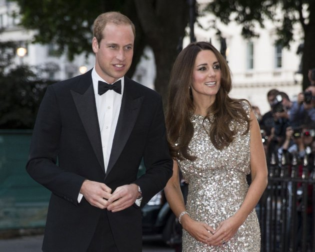 Prince William and Kate Middleton arrive to attend the Tusk Conservation Awards at The Royal Society in London, September 12, 2013. (REUTERS/Peter Nicholls)