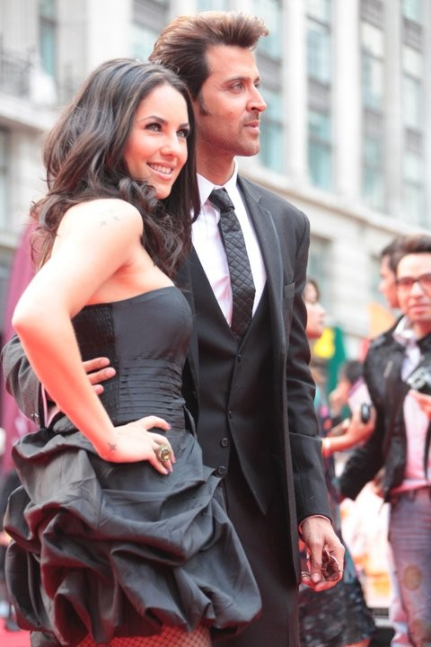 Hrithik Roshan has stated that Sussanne Roshan is the love of his life despite fresh rumour swirling around that Barbara Mori is the reason behind their spilt/Facebook/HrithikRoshan