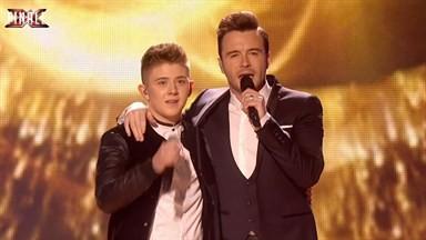 Sam McDonald and Shane Filan