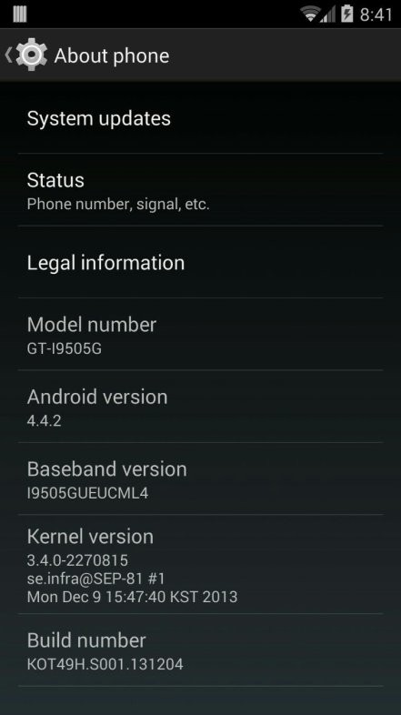 Galaxy S4 Google Play Edition Gets Android 4.4.2 KOT49H Update with Bug-Fixes [Download Links]