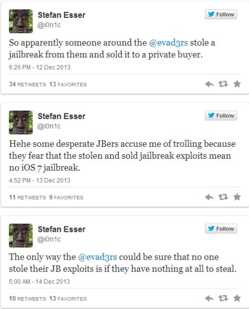 iOS 7 Jailbreak Status: Pod2g Rubbishes Rumours of Stolen Evad3rs Exploits