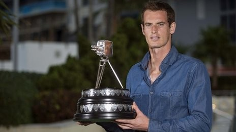 Wimbledon Chanmpion Andy Murray
