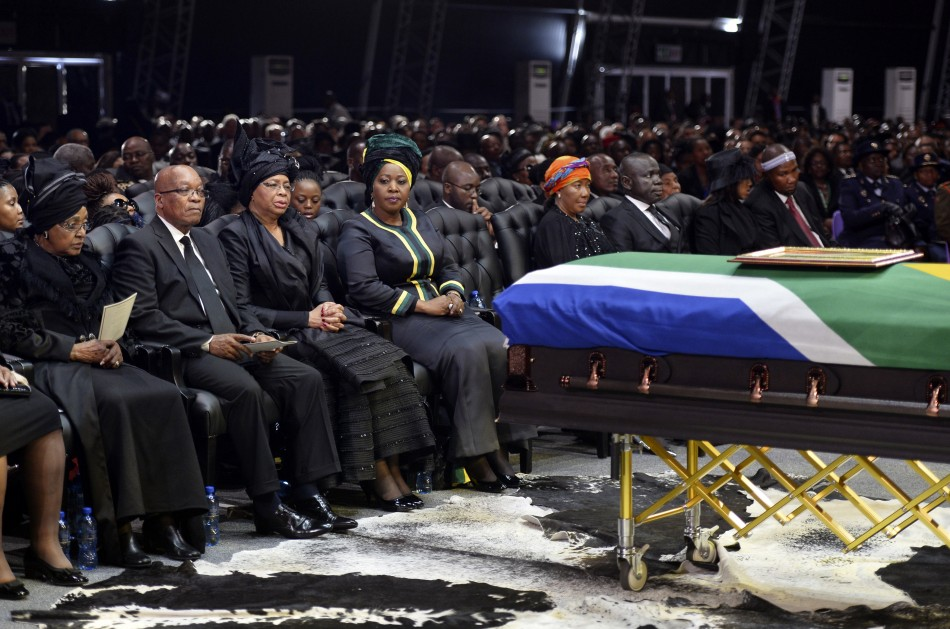 The State Funeral of Nelson Mandela
