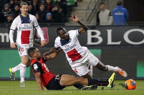 Matuidi PSG Ibrahimovic Rennes