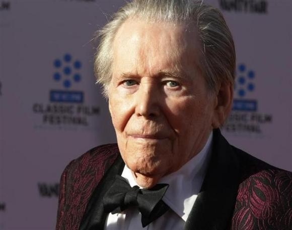 British actor Peter O'Toole arrives at the opening night gala of the 2011 TCM Classic Film Festival featuring a screening of a restoration of 'An American In Paris' in Hollywood, California April 28, 2011.