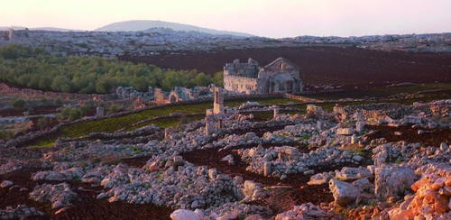 A view of the Ancient Villages of Northern Syria. (Photo: Simone Ricca/UNESCO)