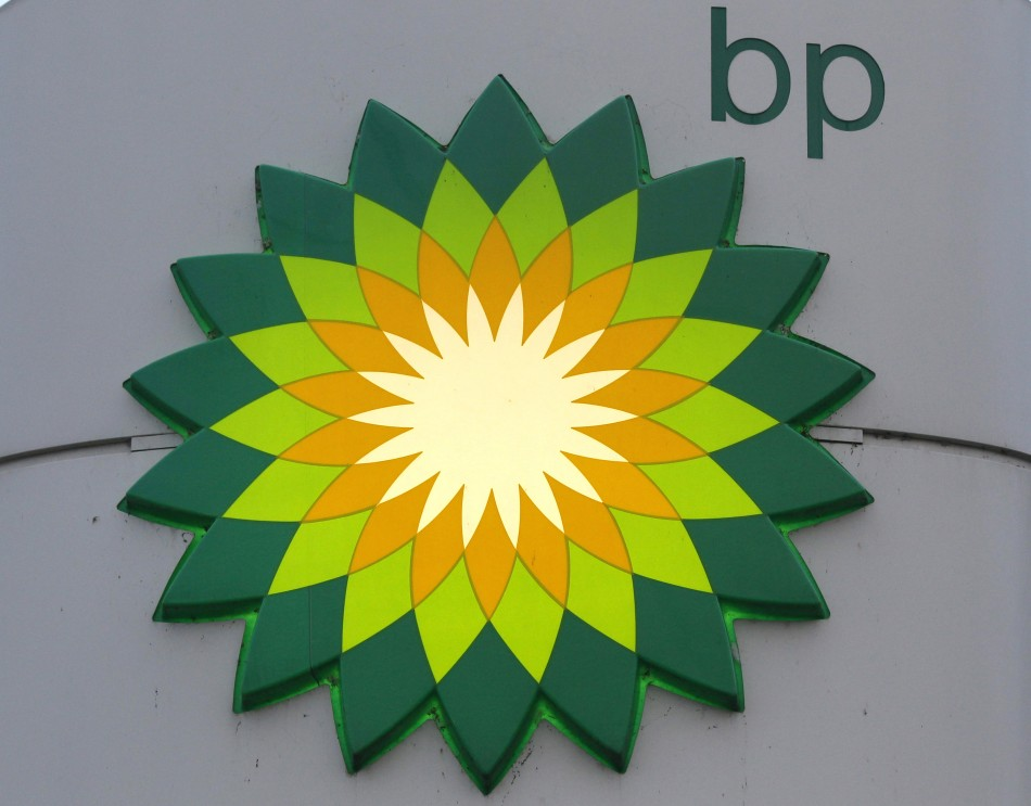 BP logo is seen at a fuel station