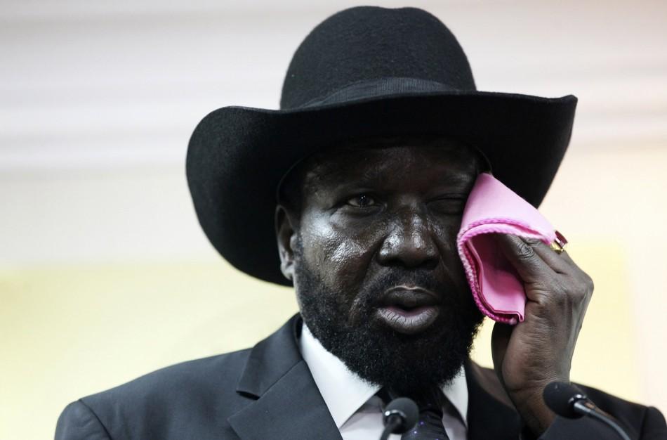 outh Sudan's President Salva Kiir