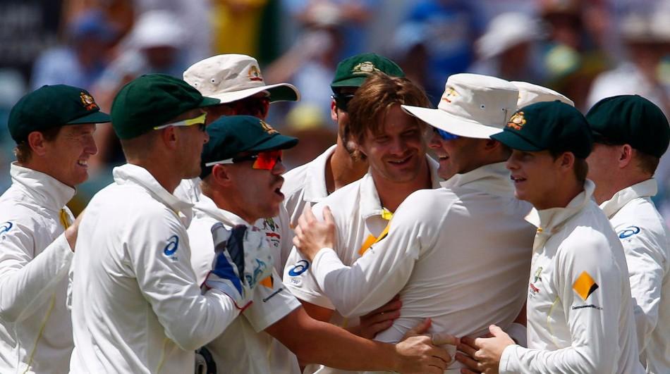Australia Players Celebration