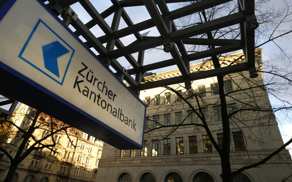 The logo of Swiss Zuercher Kantonalbank