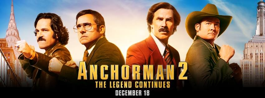 Will Ferrell returns as Ron Burgundy in Anchorman 2: The Legend Continues