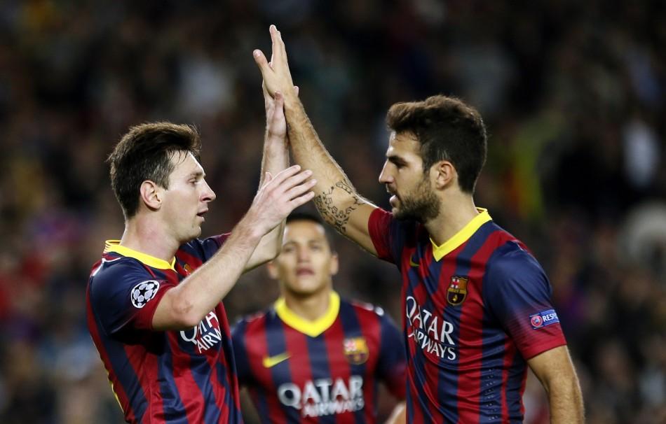 Messi-Fabregas