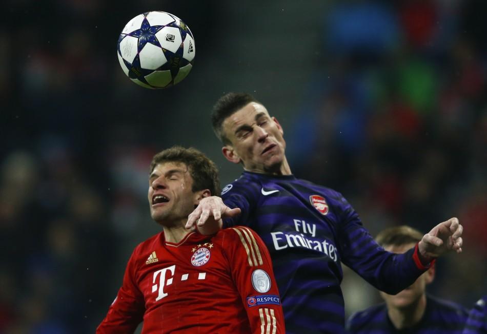 Bayern and Arsenal