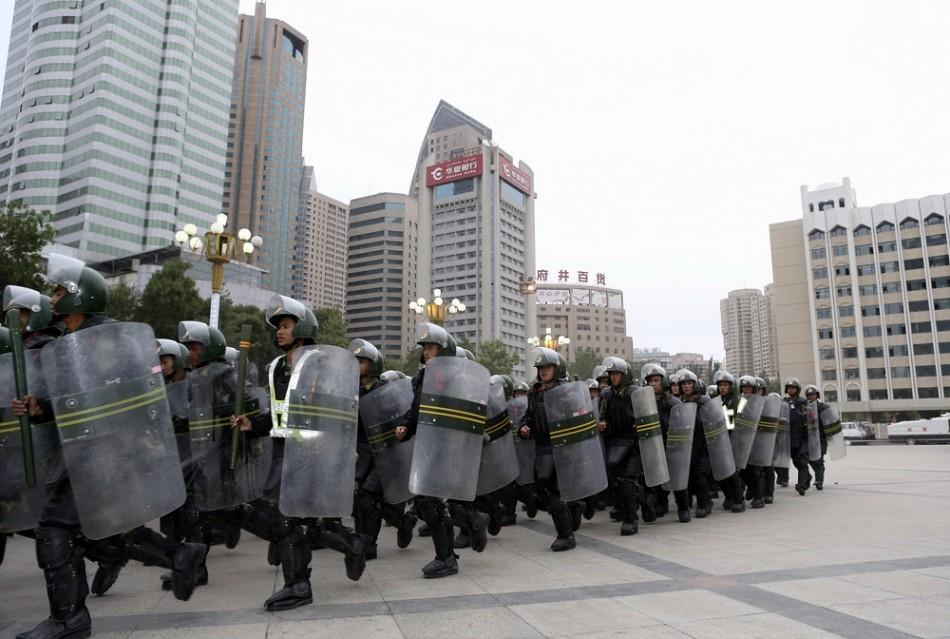 China Riots Kill 16