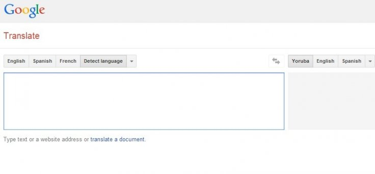 Igbo, Yoruba and Hausa Added to Google Translate