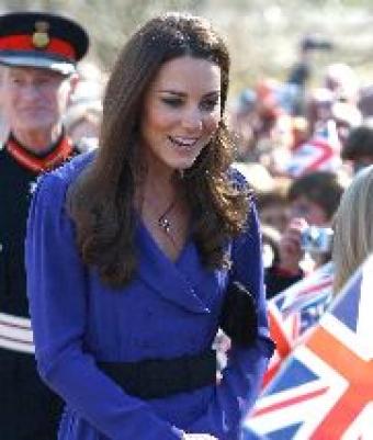 Duchess Of Cambridge Makes her First Speech
