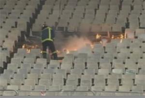 Riot At Greek Football Match