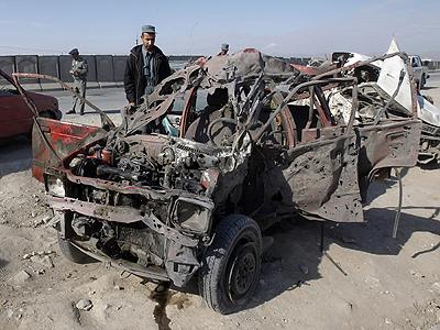 Car Bomb at Police Headquarters Kills 7 people