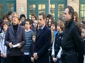 Schools Across France Observe a Minute of Silence for Victims
