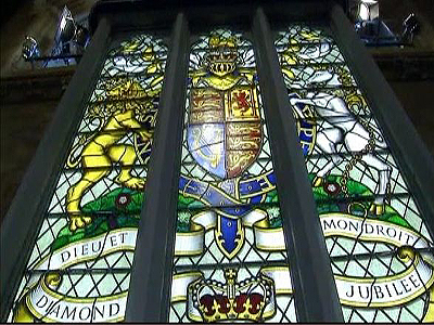 Diamond Jubilee Window Unveiled as a Gift to The Queen