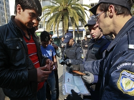 Greek Police Sweep Immigrants From Streets