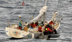 Injured British sailors rescued from racing yacht