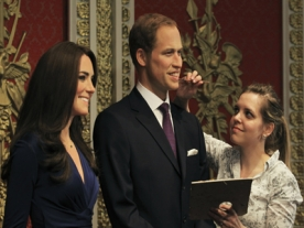 New Diamond Jubilee Waxworks of Wills & Kate