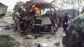 24 dead in commuter crash in Eastern China