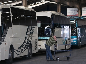 24 hour national strike by Greek bus drivers