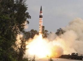 India launches 1st nuclear-capable missile