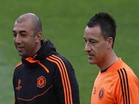 BARCELONA AND CHELSEA PREPARE FOR THEIR CHAMPIONS LEAGUE CLASH