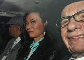 Rupert Murdoch gives evidence at Leveson Inquiry