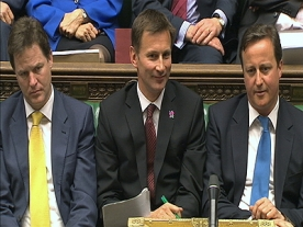 David Cameron offers 'full support' to Jeremy Hunt
