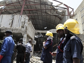 Fatal bomb blast at This Day Newspaper in Nigeria