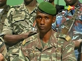 Mali Junta makes TV broadcast