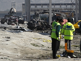 Suicide car bomb in Kabul kills at least 6, injures 16