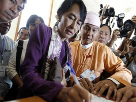 Parliamentary debut for Aung Sang Suu Kyi
