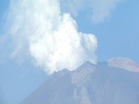 'Popo' Volcano in Mexico on number three high alert