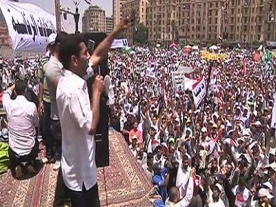 Thousands of Egyptians Rally to Demand Free Presidential Vote