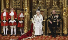 Queen Plans to Cut UK Deficit during Sate Opening of Parliament