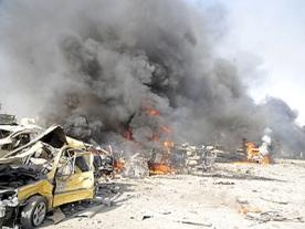 Syria: 2 terrorist bomb blasts kill dozens in capital
