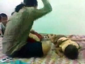 Hideous video of mother beating her 8-month-old baby