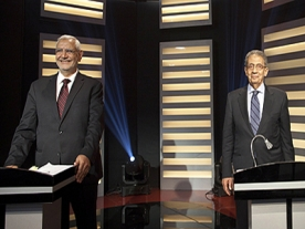 Egypt presidential election candidates in first TV debate