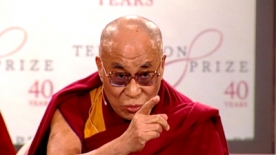 Dalai Lama in London to Receive £1.1 Million Templeton Prize