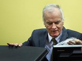 Mladic War Crime Trial Halted After Throat Slitting Gesture