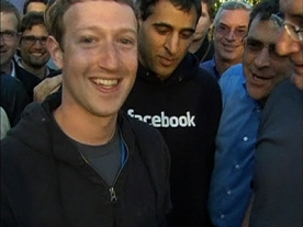 Facebook share trading on Nasdaq